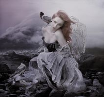 With broken wings.. by DiosaEMR
