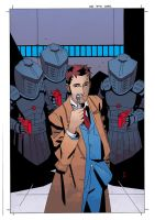 Dr Who Ongoing 6 cover by CharlieKirchoff
