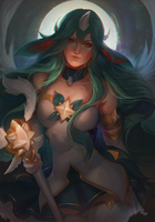 Star Guardian Soraka by RinRinDaishi