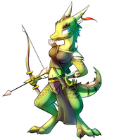 Trade: Tiana the Kobold by Nexeron