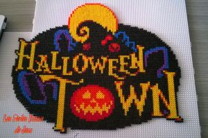 Halloween Town - Kingdom Hearts by barteletjess