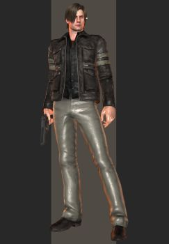 XPS - RE6 - Leon S. Kennedy Tall Oaks Outfit by henryque999