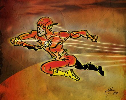 The Fastest Man Alive by enricobotta