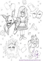 Alice in Horrorland by DysfunctionalHuman