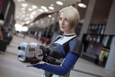 Cora Harper (Mass Effect: Andromeda) by niamash
