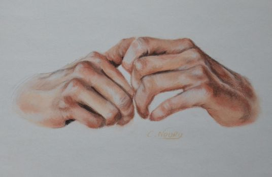 Tom's Hand 32 'Dreaming' by Andromaque78