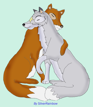 Silver and Naz by SilverShadowfax