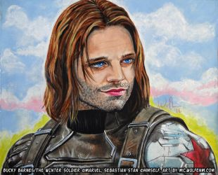 Captain America: Bucky Barnes, the Winter Soldier by WolfenM