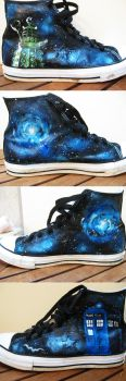 Doctor Who Shoes by AndYouThoughtICared
