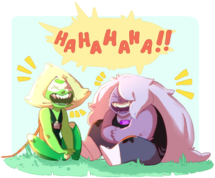 LAUGH BUDS ! by kyoukorpse