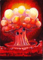 worlds happiest mushroom cloud by smushbox