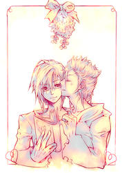 Zemyx: Mistletoe. by illbewaiting