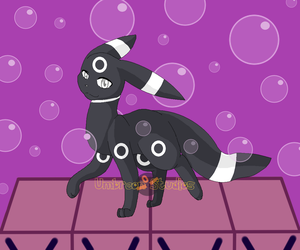Beta Umbreon by UmbreonStudios