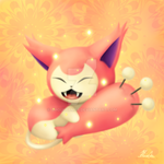 Just a regular skitty by GhoulTamer