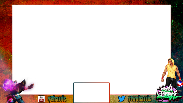 Stream Overlay - Y2Harris - Street Fighter by TomBadguy