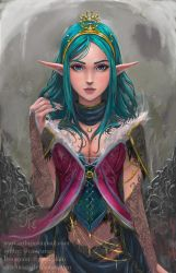 Elves and Corsets -1- by castcuraga