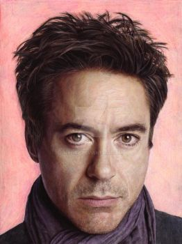 robert downey jr by natira