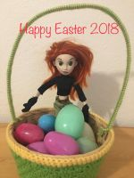 Happy Easter from Kim possible 2018 by montrain101