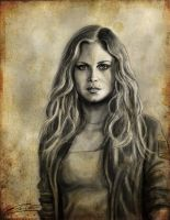 Clarke Griffin Charcoal by Epopp300