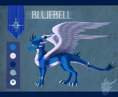 Bluebell reference sheet by Skaynoodle