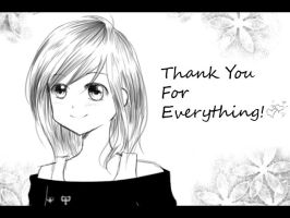 Thank you! by ming-zi