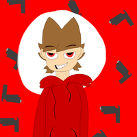 Tord And Guns by Akudoodle