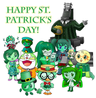 2018 03 17 Mr Quackers' St Patrick's Day by dannichangirl