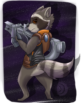 Rocket by QuillyRoe
