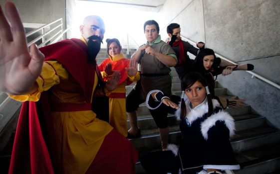 The Legend of Korra by the-sushi-monster