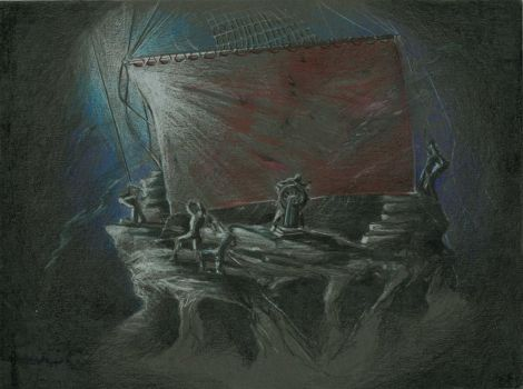 The Tempest- Sketch 1 by ScottAronow