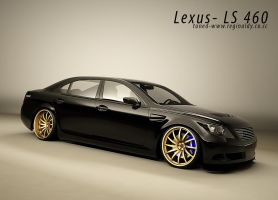 Lexus-LS460 tuned-update by 3dmanipulasi