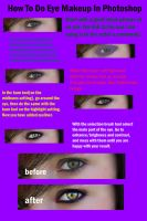 Eyes In Photoshop Tutorial by pieface75