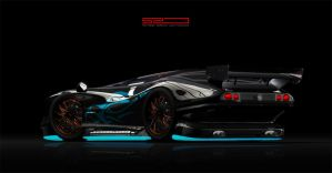 Concept sports car by sinisart by Sinisart
