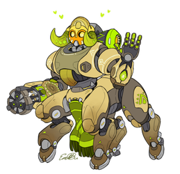 The Protector of Numbani by EmBBu-chan