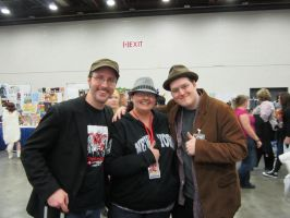 Doug, Lewis, and Me! Youmacon 2012 by alex-heberling