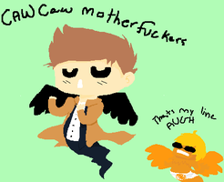 Castiel U Butt by ucccoffee