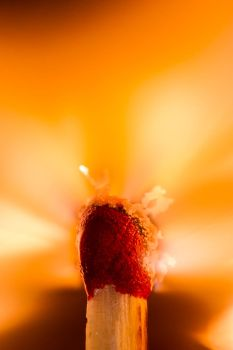 Burning Matchstick III by ChristophMaier
