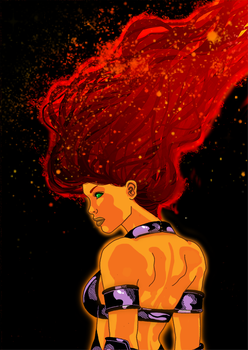 Some more Starfire by VoxVulpina