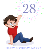 TWENTY-EIGHT? [ YT // Markiplier ] by oh-no-Castiel