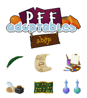 PFF Adoptables - Various by RhynnCollins