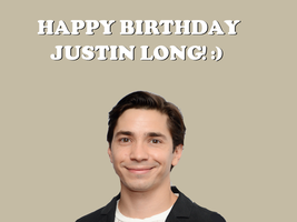 Happy Birthday Justin Long! by Nolan2001