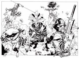 GUARDIANS OF THE GALAXY by timothygreenII