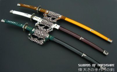 Hand Forged Traditional Japanese Tachi by swordsofnorthshire