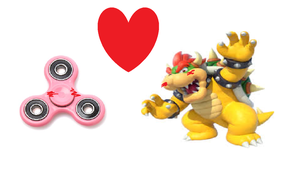 BOWSER X FIDGET SPINNER THE TRUE SHIP!!!!! by sonic4isawesome