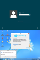 Windows8 RTM logon for Windows7 by PeterRollar