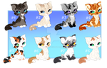 February Kitten Adoptables [4/8 open] SALE by Witherfrost