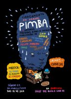 Jornal Pimba Launch Party Poster by sobreiro