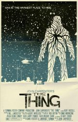 The Thing Poster by markwelser