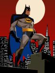 Batman by darkbluebones