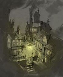 London, 19th century by dionix24